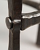 Round Wrought Table Detail - Custom Forged Wrought Iron