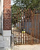 Forged Iron Gate in Baltimore