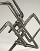 Nodus #1 - Forged Wrought Iron Sculpture Detail