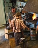 Setting Up Fire Weld at Noble Forge Blacksmith Shop